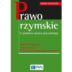 Prawo rzymskie (opr. miękka)
