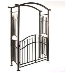 Solidna brama Garth w stylu antycznym 207 x 130 x 50 cm