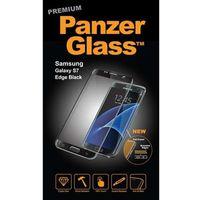 Folie ochronne do smartfonów, Folia ochronna wyświetlacza do smartfona Samsung Galaxy S7 czarna PanzerGlass