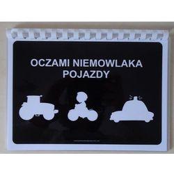Oczami Niemowlaka Pojazdy - książeczka karty kontrastowe dla niemowląt