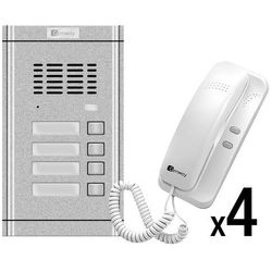 Zestaw domofonowy 4 rodzinny WL-02NE-4