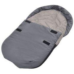 vidaXL Śpiworek do nosidełka lub fotelika samochodu, szary Darmowa wysyłka i zwroty