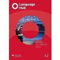 Książki do nauki języka, Language hub split ed. elementary a2 sb a + app - peter maggs, catherine smith