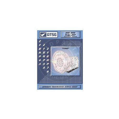 Biblioteka motoryzacji, ZF 8HP45 / 8HP55 / 8HP70 / 8HP90 LITERATURA TECHNICZNA