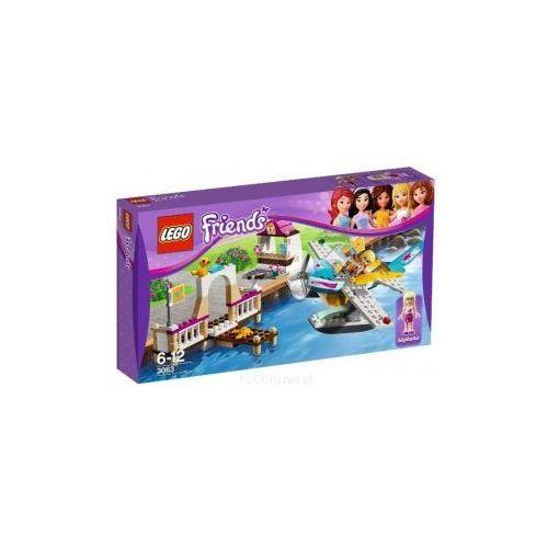 Klocki dla dzieci, Lego FRIENDS Klub lotniczy w heartlake 3063