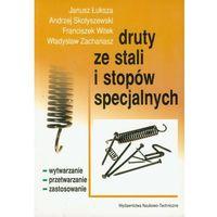 Leksykony techniczne, Druty ze stali i stopów specjalnych (opr. broszurowa)