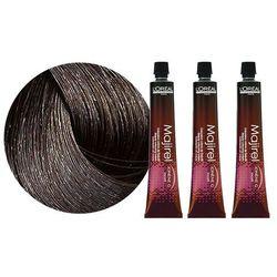 Loreal Majirel | Zestaw: trwała farba do włosów - kolor 5.0 głęboki jasny brąz 3x50ml