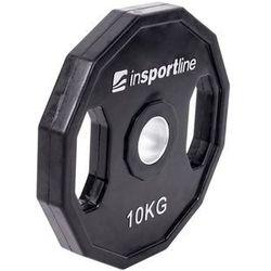 Obciążenie olimpijskie gumowane Ruberton Insportline 10 kg - 10 kg