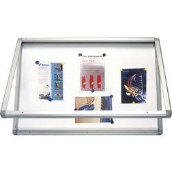 Gablota informacyjna 2x3 model 1 wewnętrzna suchościeralno - magnetyczna lakierowana 120x90cm
