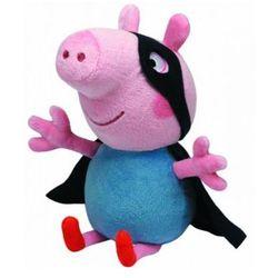 Beanie Babies Peppa Pig - George Superhero 28cm Maskotka TY INC