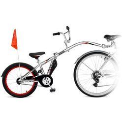 Przyczepka rowerowa WEERIDE Co-Pilot Srebrny