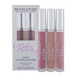 Makeup Revolution London X Petra XOXO Lip Collection zestaw zestaw Mauve Madness