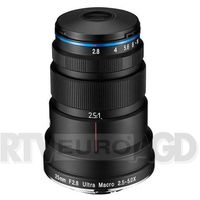 Obiektywy fotograficzne, Laowa 25mm f/2.8 2.5-5X Ultra Macro Canon EF