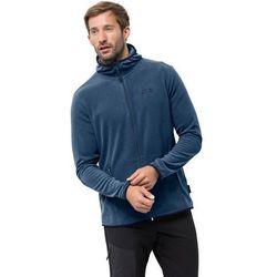 Męska kurtka polarowa ARCO JACKET M indigo blue stripes - XL
