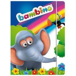 Teczka z gumką A4 Bambino Standrard mix 10 sztuk