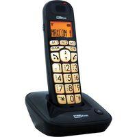 Telefony stacjonarne, MC6800 CZARNY TELEFON DECT BB