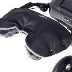 Mufka na ręce TFK uniwersalna Czarno-Szara