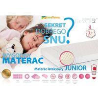 Materace, MATERAC LATEKSOWY HEVEA JUNIOR AEGIS 180x80 + PODUSZKA 45X45 GRATIS!