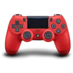 SONY gamepad PS4 DualShock 4 czerwony V2, (PS719814153)