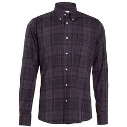 Barbour BARBOUR WILFRED TAILORED FIT Koszula grey marl