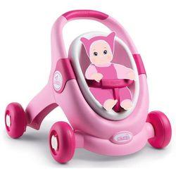 Smoby Chodzik dziecięcy Minikiss Baby Walker 3w1