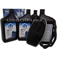 Filtry oleju do skrzyni biegów, Olej MOPAR ATF+4 oraz filtr automatycznej skrzyni biegów NAG1 Chrysler 300C