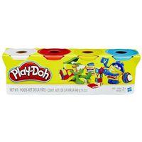 Ciastolina, Play Doh Mix kolorów 4 Tuby B5517