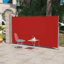 Markiza boczna na taras, 160 x 300 cm, czerwona