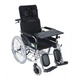 Wózek inwalidzki specjalny z funkcją toalety