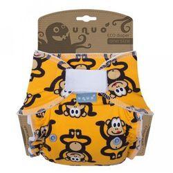 Unuo pieluszka wielorazowa Super Size, Małpa - żółty - BEZPŁATNY ODBIÓR: WROCŁAW!
