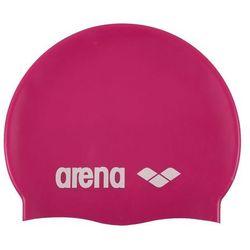 arena Classic Silicone Czepek pływacki różowy 2018 Czepki pływackie