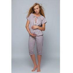 Piżamka dla pań w ciąży i również podczas karmienia.Sensis Kate