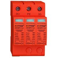 Baterie słoneczne, Ogranicznik przepięć FOTTON OBV26PV-12,5 kl. I,II (B+C) 1500V DC