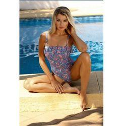 Kostium kąpielowy damski jednoczęściowy SELF S1016Q20 niebieski