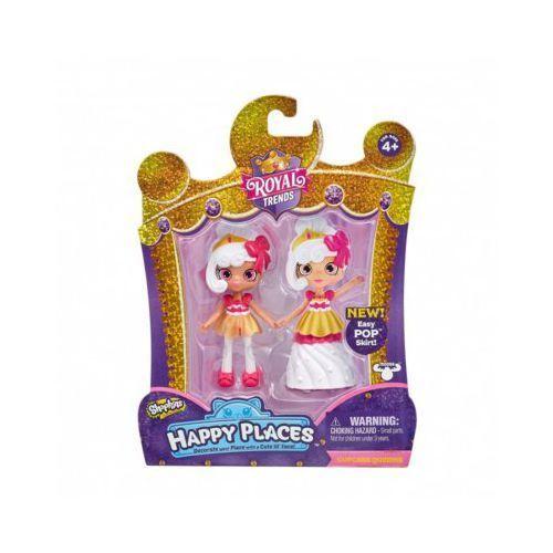 Lalki dla dzieci, Moose Formatex Shopkins Lalka Mix Happy Places Royal