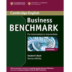 Business benchmark pre-intermediate to intermediate Student's book (opr. miękka)