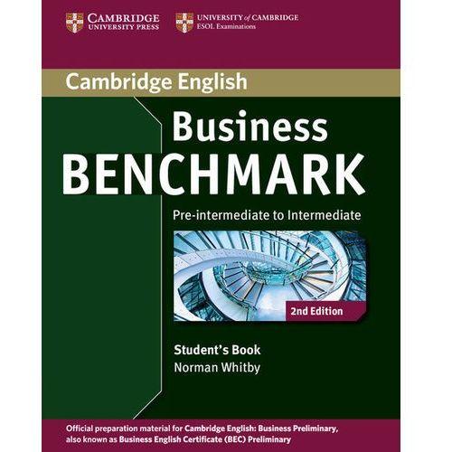 Książki do nauki języka, Business benchmark pre-intermediate to intermediate Student's book (opr. miękka)