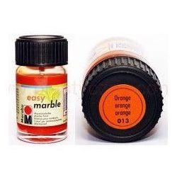 Farba do marmurkowania Easy Marble Marabu 15 ml - 013 Orange