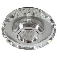 Oprawy, Oprawa halogenowa CANDELLUX SS-35 AL/TR (3 W) LED COB Szkło Transparentne