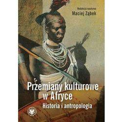 Przemiany kulturowe w Afryce Historia i antropologia - książka (opr. miękka)