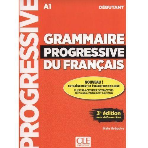 Książki do nauki języka, Grammaire progressive du français Livre + CD + Livre-web 100% interactif - Maia Gregoire