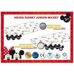 MATERAC LATEKSOWY HEVEA DISNEY JUNIOR LUX MCKEY/CARS 160x70