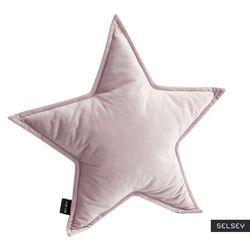 SELSEY Poduszka dekoracyjna Cozie w kształcie gwiazdy liliowa