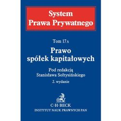 SPP 17A Prawo spółek kapitałowych System Prawa Prywatnego*natychmiastowawysyłkaod3,99 (opr. twarda)