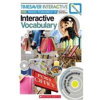 Książki do nauki języka, Timesaver Interactive: Interactive Vocabulary. Książka + Oprogramowanie Tablicy Interaktywnej (opr. miękka)