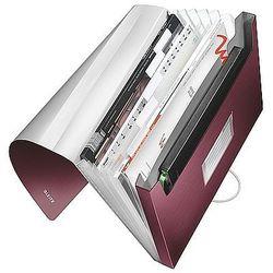 Teczka z 6 przegródkami Leitz Style A4 250k rubinowa czerwień 39570028