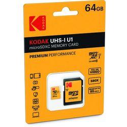 EMTEC KODAK microSDXC 64GB Class 10 U3 +Adapter