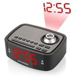 Radio z budzikiem Hyundai RAC 201 PLL BR Czarny