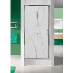 SANPLAST drzwi Tx 5 90 przesuwne, szkło W15 D2/TX5b-90 600-271-1100-38-231
