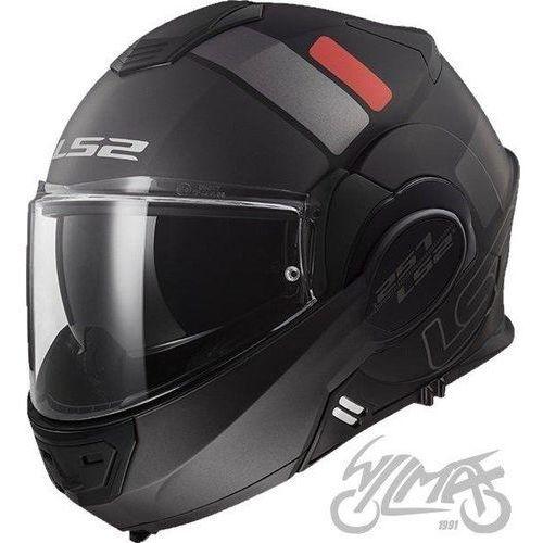 Kaski motocyklowe, KASK LS2 FF399 VALIANT PROX MATT BLACK TITAN